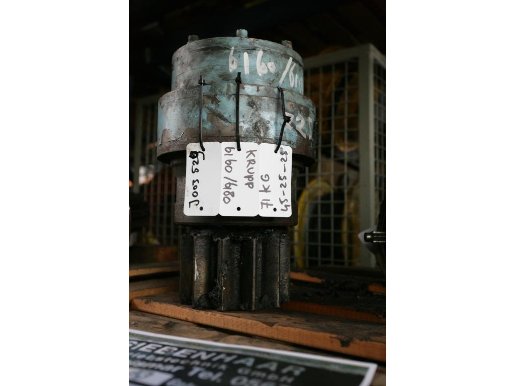 Krupp KMK 6160 Sistema hidraulico