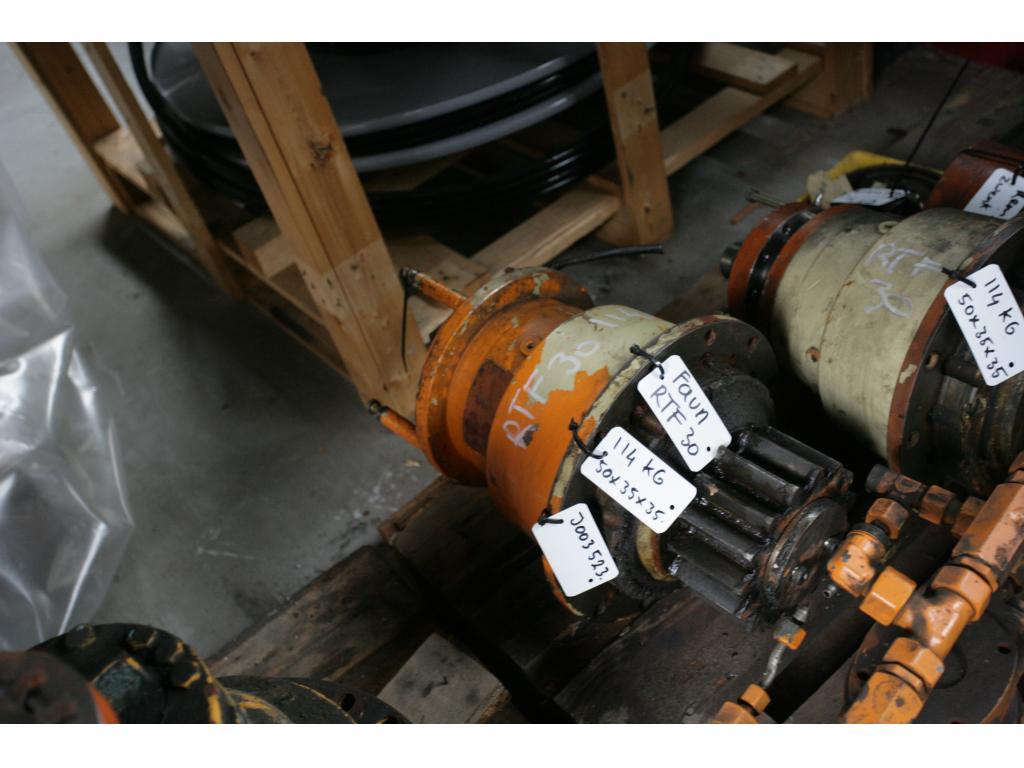 Faun RTF 30 Sistema hidraulico