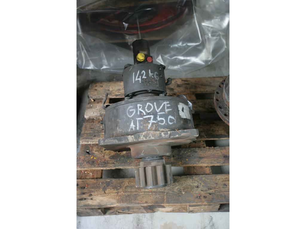 Grove AT 750 BE Systemes hydraulique