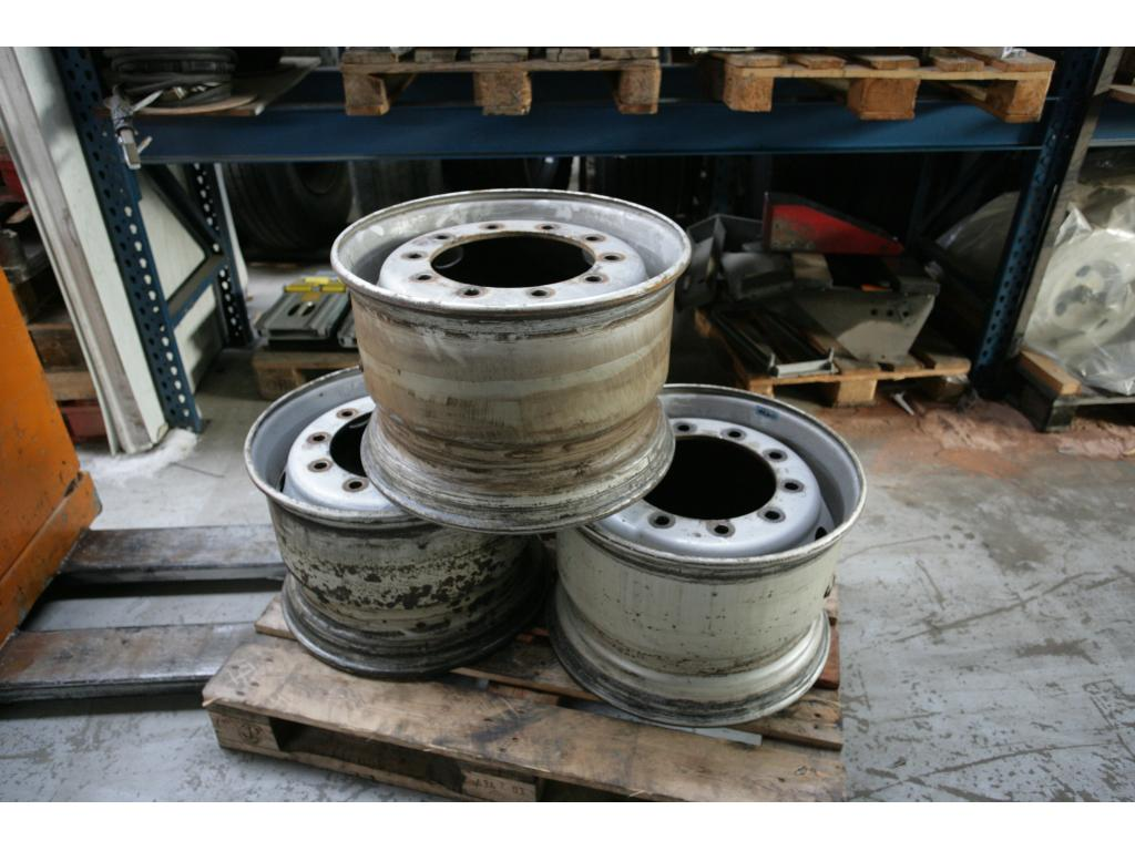 Krupp KMK 6180 Rims and Tyres